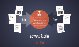 The Difference between Active vs. Passive Voice