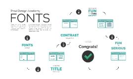 Prezi Design Academy: Fonts Tutorial