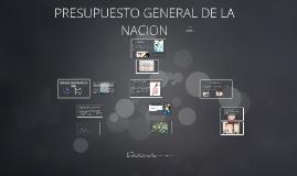 Copy of PRESUPUESTO GENERAL DE LA NACION