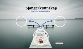 Norsk - Sjangerkunnskap