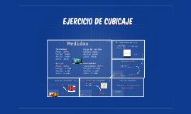 Copy of Copy of Ejercicio de Cubicaje
