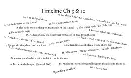 Timeline Ch 9 & 10