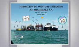 FORMACIÓN DE AUDITORES INTERNOS