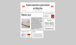Wspólnota obywatelska w gminach Alwernia oraz Międzyzdroje.