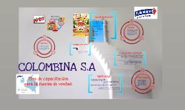 Copy of Copy of Plan de capacitación Colombina
