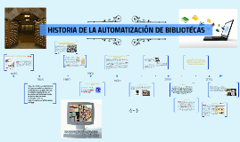 Copy of Historia de Automatización de Bibliotecas