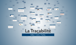 Logistics tracability