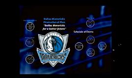 Dallas Mavericks Sports & Entertainment Promotion Plan