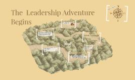 The Leadership Adventure Begins