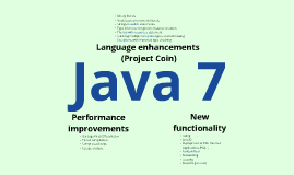 Java 7: New features