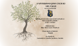 UNIVERSIDAD JOSE CECILIO DEL VALLE