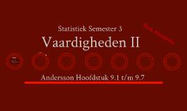 Hotelschool Maastricht - Statistiek Semester 3 - Vaardigheden II - Hfst 9