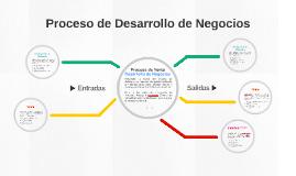 Copy of Proceso de Desarrollo de Negocios