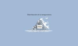 Distribución de temperatura