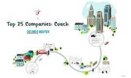 Top 25 Companies: Coach