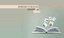 Copy of DERECHO Y CIENCIAS POLOTICAS