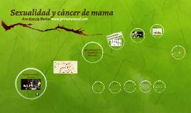 Sexualidad y cáncer de mama