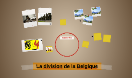 La division de la Belgique