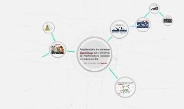 Arquitectura de sistemas ciberfísicos para sistemas de manuf