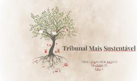 Tribunal Mais Sustentável