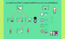 CLASIFICACION Y CARACTERISTICAS DE LAS EMPRESAS