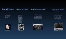 "Copy of Rudolf Hoess ""Death Dealer of Auschwitz"""