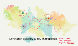 addresing culture in efl classrooms