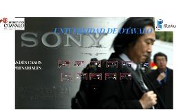 Copy of GRANDES CASOS EMPRESARIALES - SONY