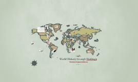 Copy of World History through Hashtags