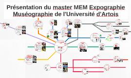 Présentation du master MEM Expographie Muséographie de l'Université d'Artois