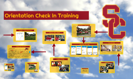 Orientation Check In Training