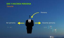 Copy of Ser y hacerse persona