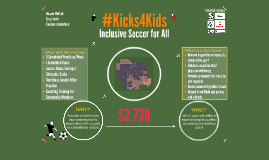 #Kicks4Kids
