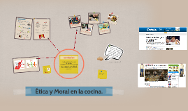 Copy of Etica y Moral en la cocina.