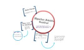 Nigerian Suicide Bomber