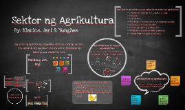 Copy of Sektor ng Agrikultura