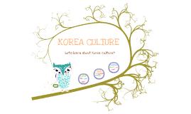 Copy of Korea culture