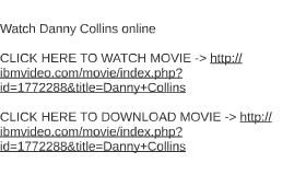 Watch Danny Collins online