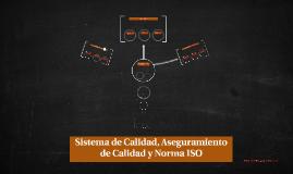 Sistema de Calidad, Aseguramiento de Calidad y Norma ISO