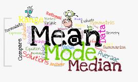 Copy of Mean Median Mode