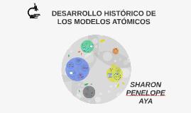 Copy of DESARROLLO HISTÓRICO DE LOS MODELOS ATÓMICOS