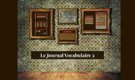 Le Journal Vocabulaire 2