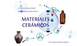 Copy of Copy of materiales ceramicos