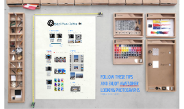 Digital Photo Editing 101