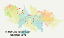Vocabulary Development September 28th