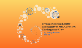 My Experience at Liberty Elementary in Mrs. Corontzes Kinder