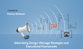 Advertising Design: Message Strategies and Executional Frame