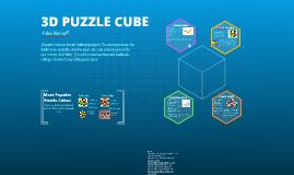 Copy of 3D PUZZLE CUBE