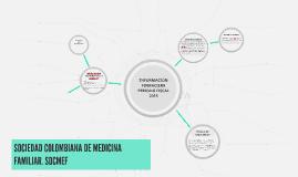 SOCIEDAD COLOMBIANA DE MEDICINA FAMILIAR. SOCMEF