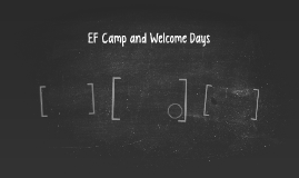 EF Camp and Welcome Days